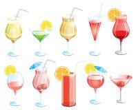 cocktails Royalty-vrije Stock Foto's