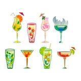 cocktails Lizenzfreies Stockbild