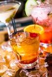 cocktails Royalty-vrije Stock Afbeeldingen