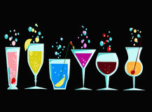 Cocktails 6 Stock Photos