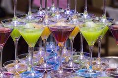 cocktails imagem de stock royalty free