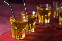 cocktails imagem de stock