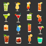 Cocktails Royalty Free Stock Photography