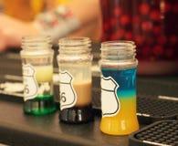 cocktails alcooliques Photographie stock