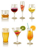 Cocktails And Drinks Royalty Free Stock Image