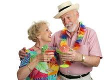 Cocktails auf Ferien Stockfotografie
