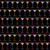 Cocktails background Royalty Free Stock Photos
