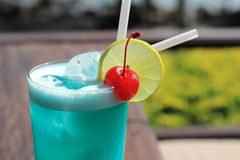 Cocktails, blaues Hawill lizenzfreies stockfoto