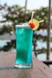 Cocktails, blaues Hawill lizenzfreie stockbilder