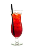 Cocktails Collection - Apricot Cooler Stock Image