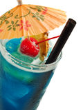 Cocktails Collection - Blue Hawaiian Stock Images
