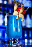 Cocktails Collection - Blue Hawaiian Stock Image