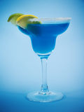 Cocktails Collection - Blue Margarita Royalty Free Stock Photos