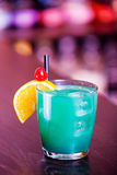 Cocktails collection - Blue Whale Royalty Free Stock Photo