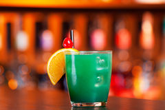 Cocktails collection - Blue Whale Royalty Free Stock Photography
