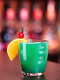 Cocktails collection - Blue Whale Royalty Free Stock Image