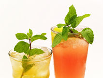 Cocktails Collection - Canadian and Mai Tai royalty free stock photography