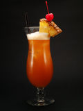 Cocktails Collection - Jamaican Sunset Stock Photography