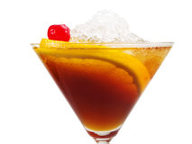 Cocktails Collection - Manhattan Royalty Free Stock Photography