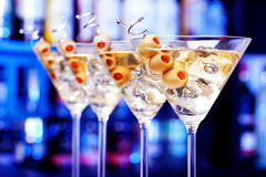 Cocktails Collection - Martini Royalty Free Stock Images