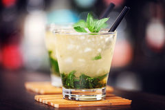 Cocktails collection - Mint Julep Royalty Free Stock Image