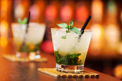Cocktails collection - Mint Julep Royalty Free Stock Images