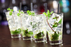 Cocktails Collection - Mojito Stock Images