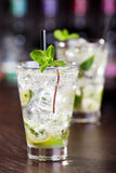 Cocktails Collection - Mojito Royalty Free Stock Photos