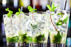 Cocktails Collection - Mojito Royalty Free Stock Photography