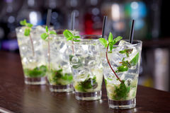 Cocktails Collection - Mojito royalty free stock photo