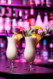 Cocktails Collection - Pina Colada Stock Images