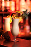 Cocktails Collection - Pina Colada Royalty Free Stock Image