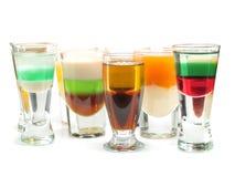 Cocktails Collection - Shot Enterprise Royalty Free Stock Images