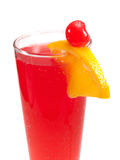 Cocktails Collection - Singapore Sling Royalty Free Stock Images