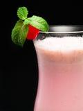 Cocktails Collection - Strawberry Milkshake stock photo