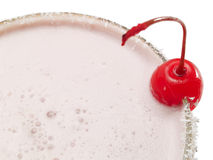 Cocktails Collection - Strawberry Milkshake royalty free stock photography