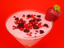 Cocktails Collection - Summer Berry Smoothie Royalty Free Stock Photo