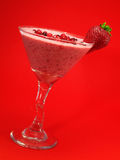 Cocktails Collection - Summer Berry Smoothie Stock Photo
