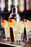 Cocktails Collection - Tom Collins Royalty Free Stock Images