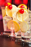 Cocktails Collection - Tom Collins Royalty Free Stock Image
