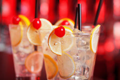 Cocktails Collection - Tom Collins Stock Image
