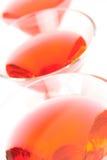 Cocktails cosmopolites Image libre de droits