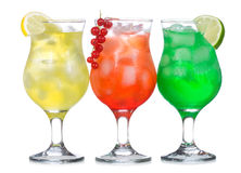 Cocktails d'alcool images stock