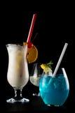 Cocktails d'isolement Photographie stock libre de droits