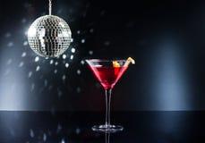 Cocktails on the dance floor Stock Photos