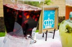 Cocktails de fête de naissance Photo stock