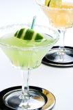 Cocktails de mélange de Margarita images stock