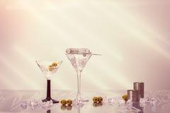 Cocktails de mélange Photos libres de droits