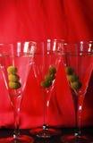 Cocktails de Thee martini Photo stock