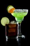 Cocktails der glücklichen Stunde Lizenzfreies Stockfoto